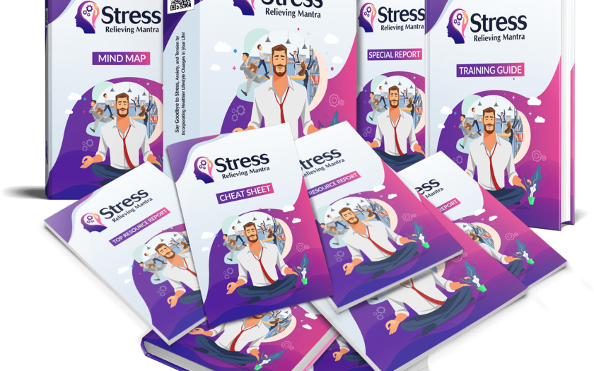 Stress Relieving Mantra PLR - Stress Management Resources