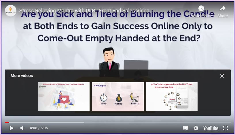 Stress Relieving Mantra Review - Top-Converting, DFY Self-Help Package in HOT Stress Niche